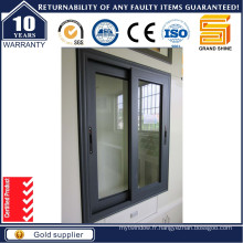 Fenêtre coulissante en aluminium double vitrage double
