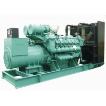 1000kw 1250kVA Nature Gas Diesel Générateur de carburant combiné
