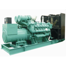 1000 кВт 1250 кВА Природный газовый дизельный генератор комбинированного топлива