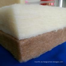 Lana de fieltro, bateo de lana para colchón