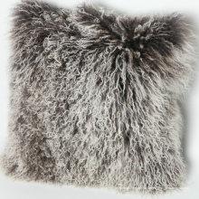 adaptabilité coussin de fourrure d'agneau mongol