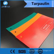 UV-protective 470g green pe tarps pvc