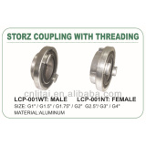 storz coupling with threading(female or male)/fire adaptor
