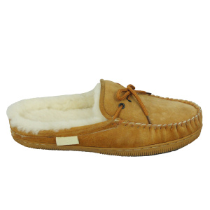 New Fashion Design for for Ladies Black Sheepskin Slippers,Ladies Shearling Slippers,Sheepskin Slipper Boots Womens Manufacturers and Suppliers in China hot sells product women's sheepskin moccasin fur slippers supply to Guam Exporter