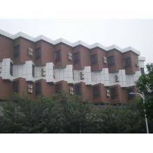 Cubierta de pared de plástico compuesto de madera con CE, Fsc, certificado de SGS
