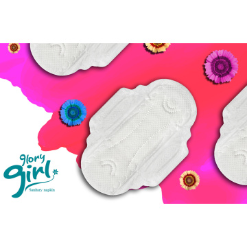 Breathable lady soft sanitary napkin for period