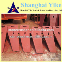 SHABAO stone jaw crusher side plate/cheek plate, guard plate ,Jaw crusher spare parts