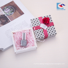 Custom size elegant design lipstick gift packaging paper box