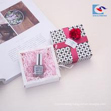 Custom size elegant design lipstick gift packaging paper box