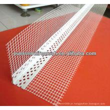 Grânulo do canto do metal / grânulo do ângulo do PVC com engranzamento (companhia + fábrica)