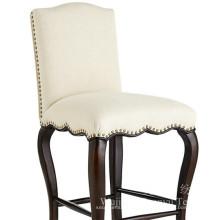 Tela 100% de lino del poliéster con el forro de T / C para las cubiertas de la silla