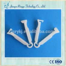 Abrazadera médica desechable de cordón umbilical estéril
