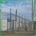 Fil sans escalade 358 barrière périmétrique de prison