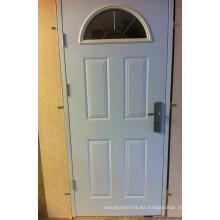 Alta calidad puerta de panel de diseño especial