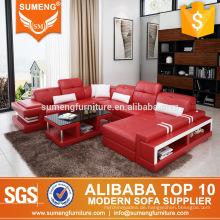 Luxus-Sofa-Set Wohnzimmermöbel im italienischen Stil mit USB-Gebühren