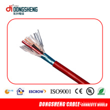 2 Core Fire Alarm Cable with Red Lzsh PVC