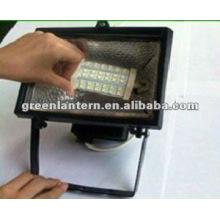 La lampe de 5W R7S LED remplacent la lumière d'inondation de l'halogène R7S
