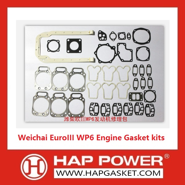 Weichai WP6 Engine Gasket kits EuroIII