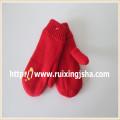 kids warm new knitting mittens