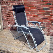 Cadeiras portáteis de gravidade zero, cadeira reclinável dobrável para tv