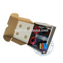Conjunto de cartucho de fita vermelha de frama de tinta compatível