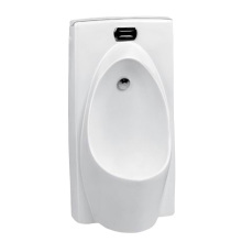 Sensor Valve Standing Ceramic Urinal For Restrooms