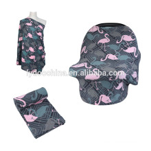 Infinity Breastfeeding Nursing cover Scarf multi-use baby car seat covers