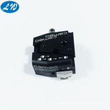 Anodized CNC machining high precision camera tripod leg lock parts