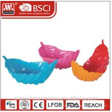 Tazón de fuente plástico hoja Popular de HAIXING