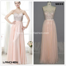 Lace Sleeveless Prom Cocktail Dress