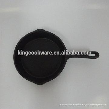 mini poêle en fonte à huile végétale