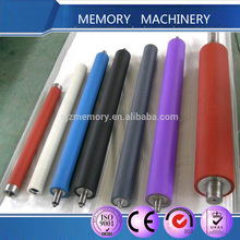 Colorful Silicone rubber roller/rubber bars/rubber rolls with metal material