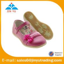 Zapatos de la muchacha de la princesa zapatos del fuxia
