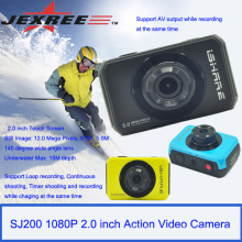 JEXREE SJ200 водонепроницаемый full hd 1080p спорт шлем камера мини видеокамера