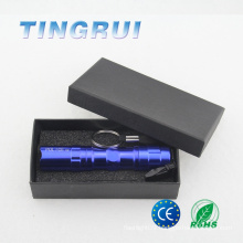 Portable Keychain with Flashlight and AA battery