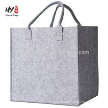 nouveau design personnalisé feutre épais sac en gros