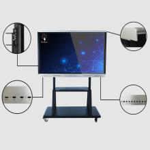 Weetaach Panel táctil de 65 pulgadas con soporte móvil