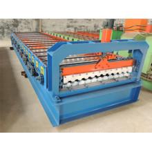 Máquina formadora de rollos de láminas para techos de Rusia