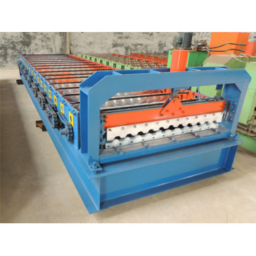 Color Tile Sheet Roll Forming Machine in Russian