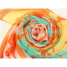 100% полиэстер печать весна / лето длинный шарф