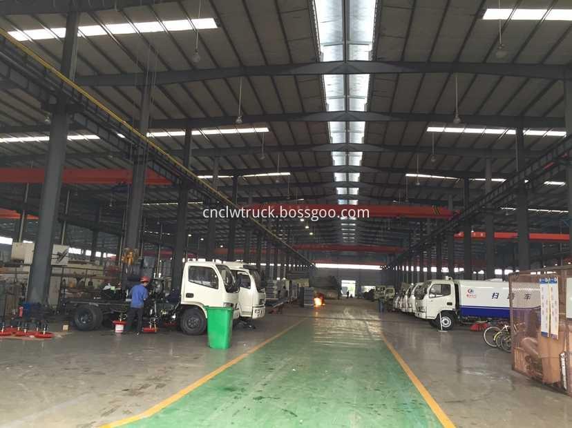 truck transport truck factory show