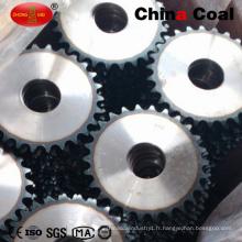 Pignon de chaîne en acier à haute résistance