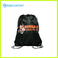 Promocional personalizado logotipo poliéster Drawstring Backpack RGB-103