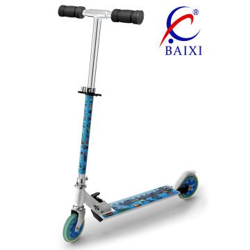 Scooter para niños con dos ruedas PU (BX-2M006)
