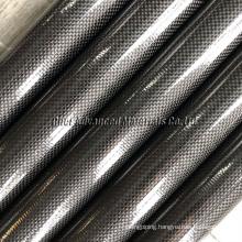 Carbon Fiber Spinnaker Pole/3k carbon Fiber mast/carbon fibre tubing/tubes