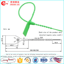 Jcps-302pull Tight Plastic Seals Plastic Tightening Wire Seals Nylon Cable Tie Seal para sellar camiones, banca, almacén, bolsas