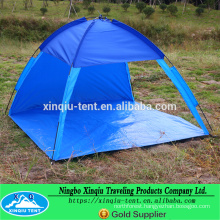 3-4 Person dome shape fiber glass pole beach tent