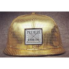 Gold angepasste Snapback Flat Brim Hüte