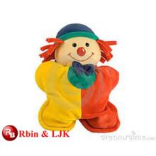 Meet EN71 and ASTM standard ICTI plush toy factory stuffed clown