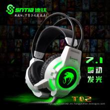 Proveedor de China Super Bass Buena calidad Gaming Computer Headphone (K-16)